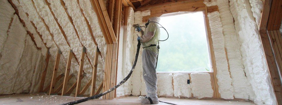 Washington Missouri Spray Foam Insulation In Bonus Room
