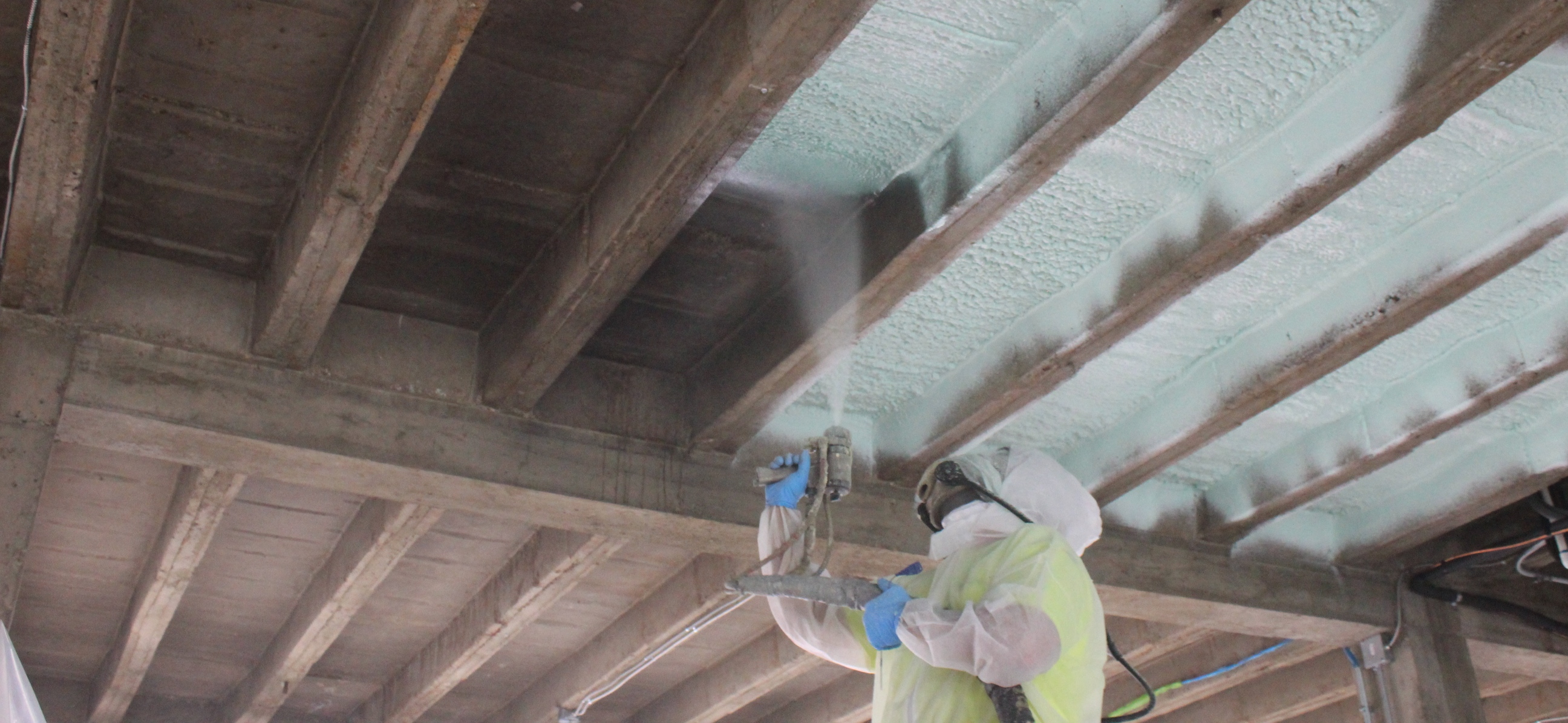 Closed Cell Spray Foam At Phelps County Bank Rolla Mo