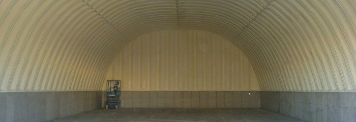 Closed Cell Spray Foam in a Quonset Hut – St. Louis, MO