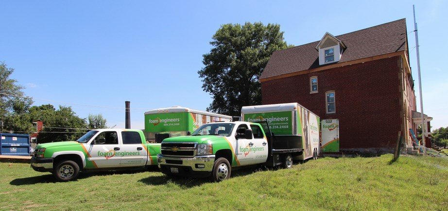 Two Spray Foam Insulation Rigs in St Louis