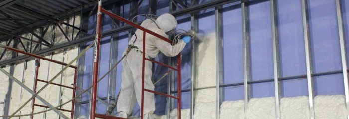 Commercial Spray Foam at Aldi Store – Quincy, IL