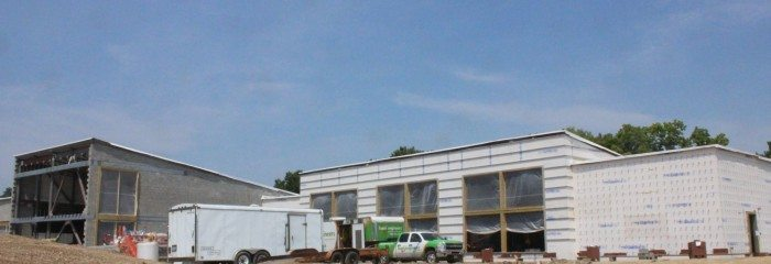 Insulation at the new Bridgeton Rec Center – Bridgeton, MO
