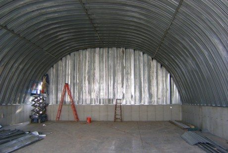 Closed Cell Spray Foam In A Quonset Hut St Louis Mo